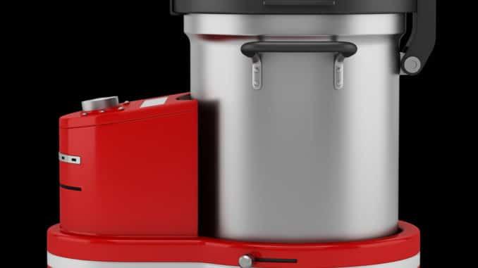 rote Küchenmaschine