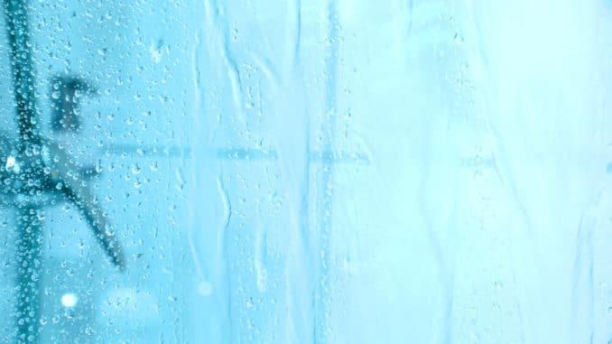 Hohe Luftfeuchtigkeit in der Dusche