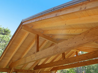 Carport aus Holz