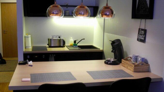 sehr kleine Küche